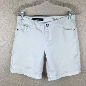 Simply Vera by Vera Wang White Denim Short